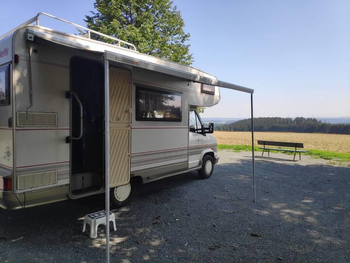 Bequemes Wohnmobil für den Großraum Nürnberg/Messe