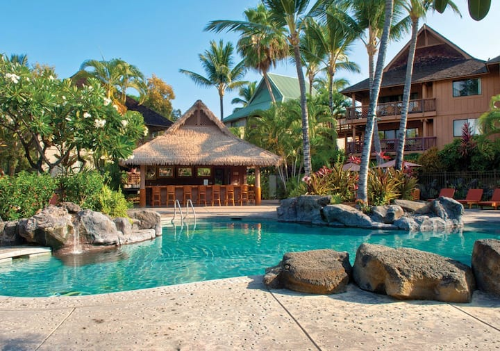 Wyn Kona Hawaiian Resort ~ Pools ~ Full Kitchen