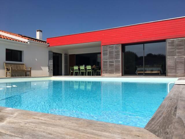 Les Naïades | Chambre côté piscine