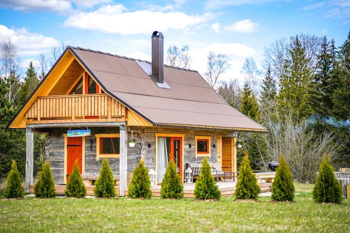 Private sauna house 50 kilometers form Tallinn
