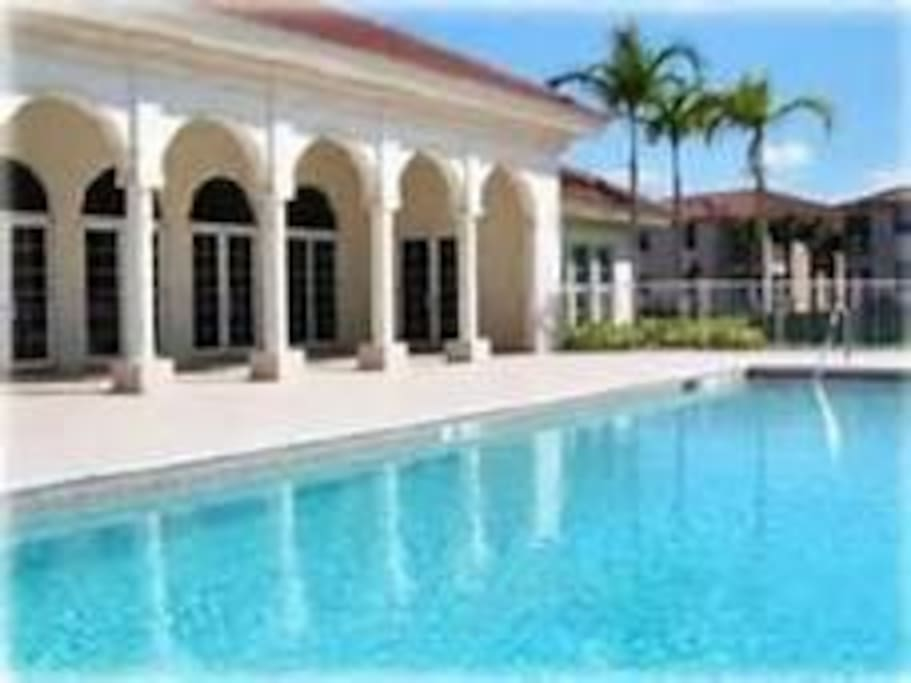 Pool, Exercise Room & Clubhouse