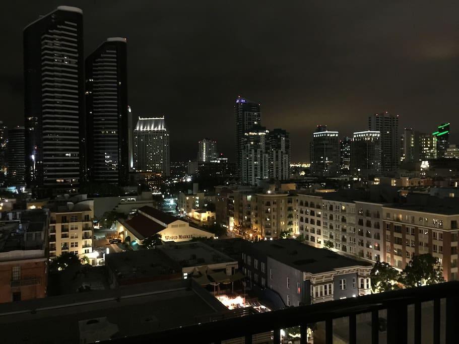 Night time skyline