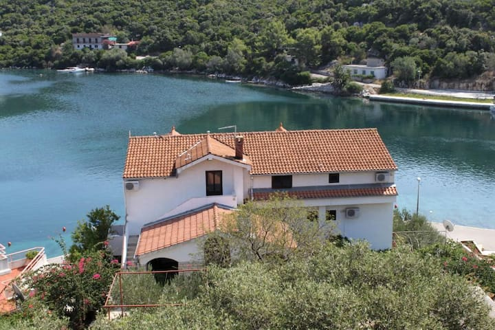 One bedroom apartment with balcony and sea view Pasadur (Lastovo) (A-996-c)