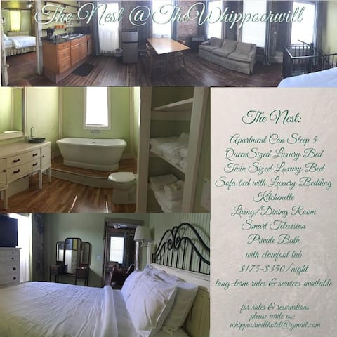 Whippoorwill Hotel: Nest Apartment Suite - Water Valley