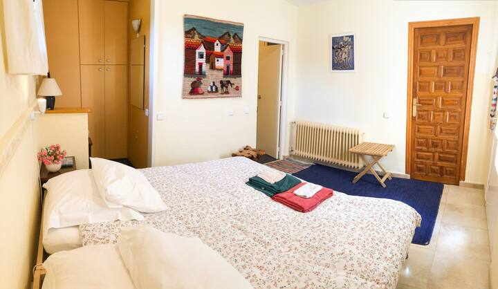 Private guestroom with pool near nature and Madrid