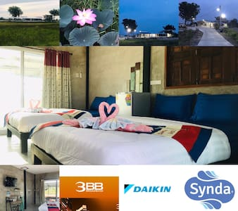 ห้องพักสำหรับ 4 ท่าน (ที่พักอุทัยธานี)SolarCell Private Stay
