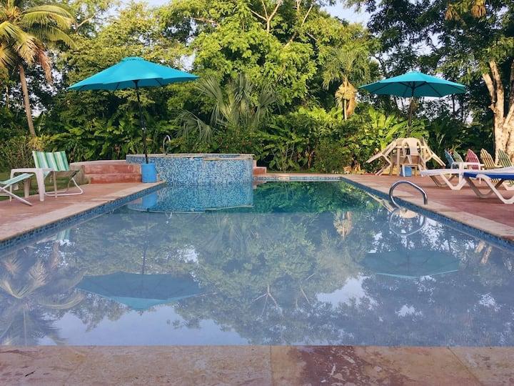 Kid friendly pool