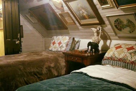Hatfield McCoy House Inn Bunkhouse - Williamson - Szoba reggelivel