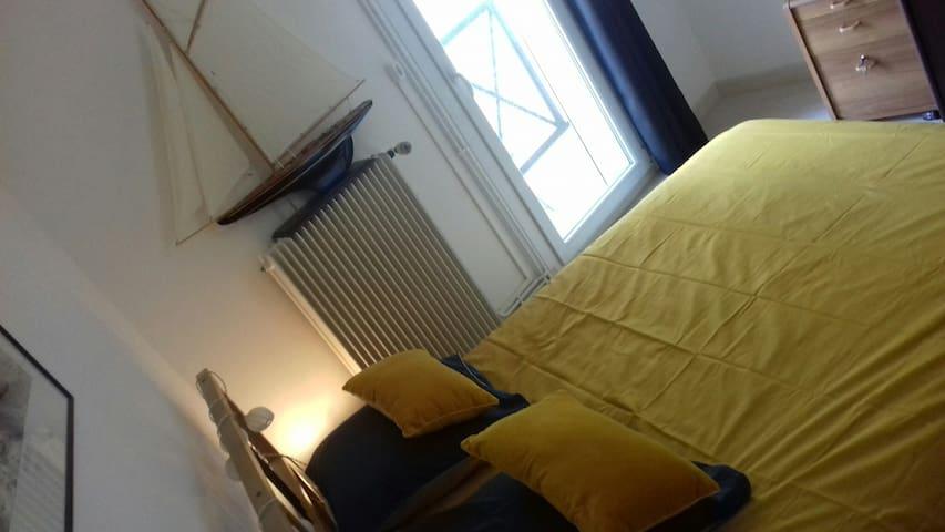 Chambre idéale pour séjours touristiques ou pro
