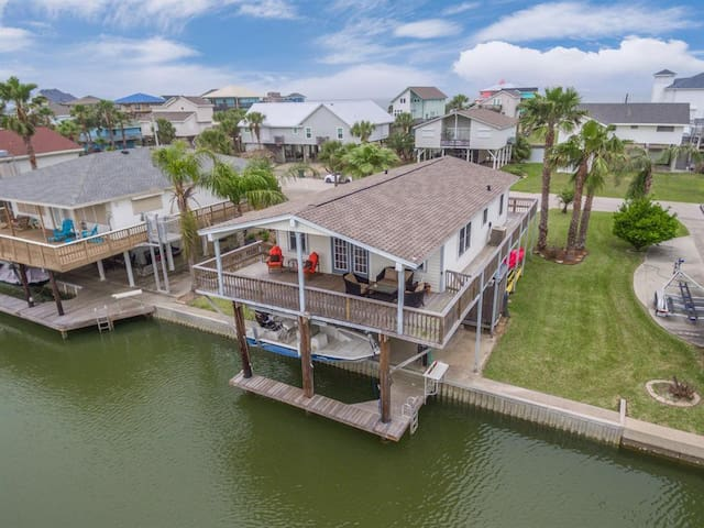 Canal-Front Home with Private Dock