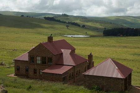 Angel's Rest, Dullstroom Country Estate - Hus