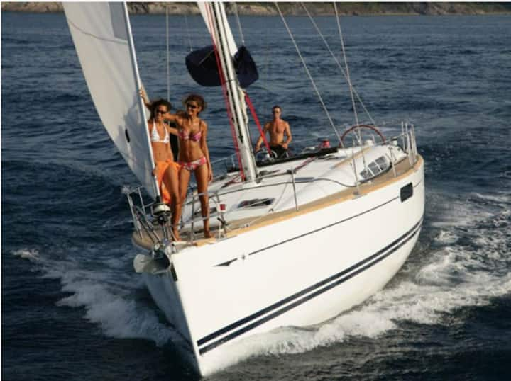 July sailing in the best Sardinia sea