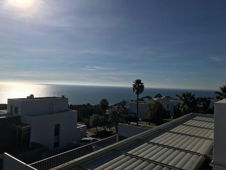 Casa con vistas al mar en Sitges