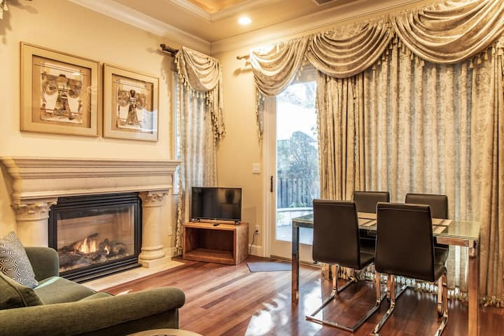 Elegant 1-Bedroom Suite in Cupertino