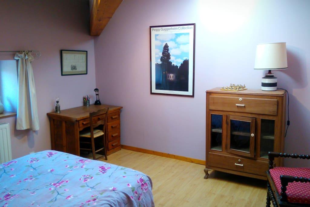 La chambre pourpre au domaine du fiageollet villen zur - Chambre d hote chatillon sur chalaronne ...
