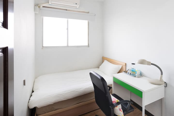 Feng Chia, Bus Stop, Single room Wifi | 像家一樣的住所 - Beitun District - Wohnung