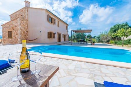 Barbella - encantadora villa con piscina privada - Manacor