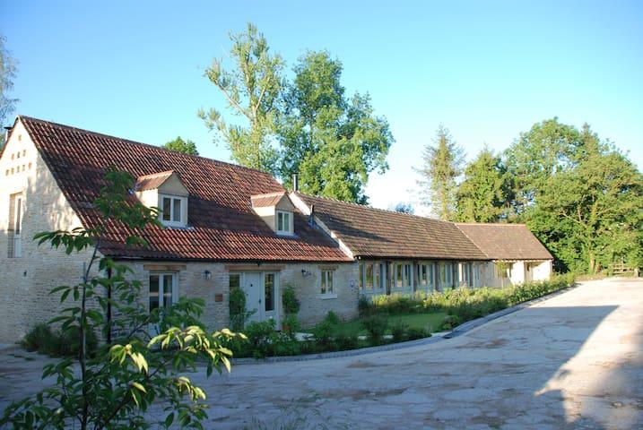 Doughton Manor Barns.  Huge, warm and welcoming