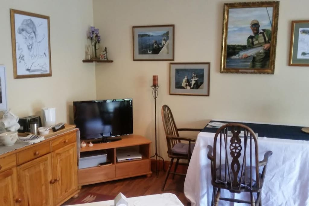 TV table and breakfast counter