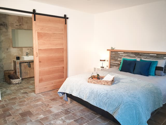 Location chambre d'hôtes vue mer en Corse Cervione