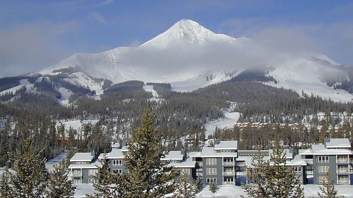 Big Sky 3 BR Condo located at base of Lone Mtn.