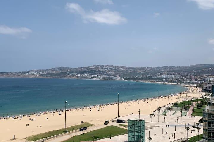 Appartement central sur la corniche de Tanger