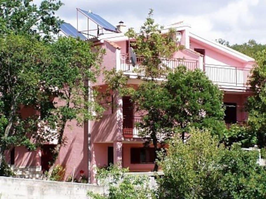 """Top apartment of Villa """"Ana"""""""