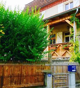Chambre dans maison avec jardin + petits déjeuners - Saint-Céré