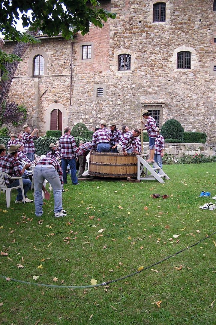 Grape Stomping Crew