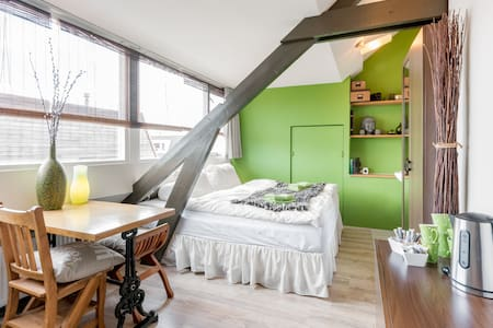 Cosy comfortable attic room Haarlem
