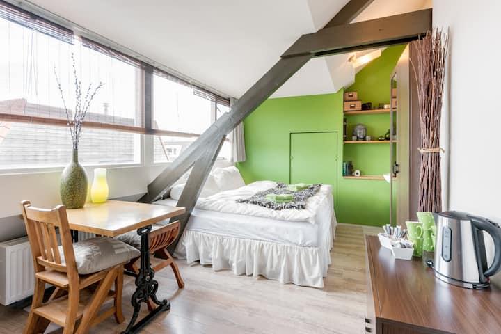 Cosy comfortable attic room Haarlem