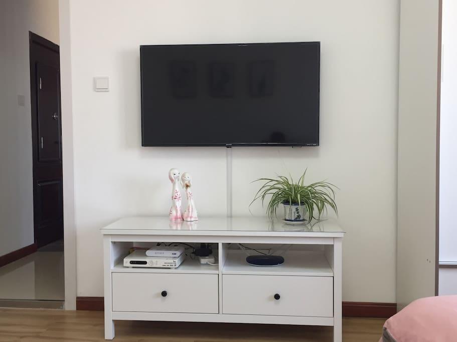 46寸夏普高清网络电视,无线wifi