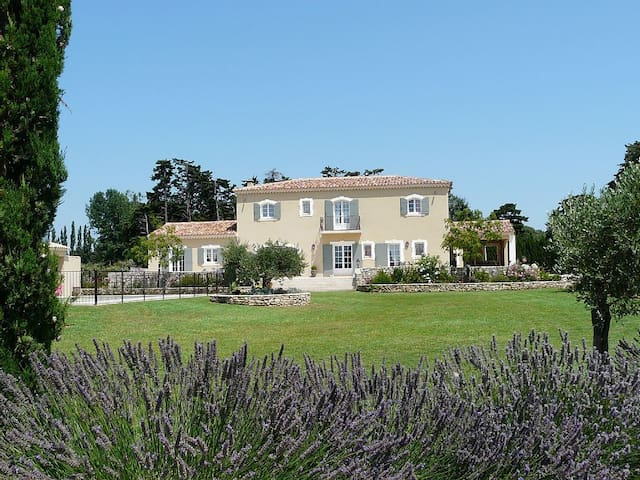 Magnificent prestige vacation rental with pool in Aureille, in the Alpilles - sleeps 12