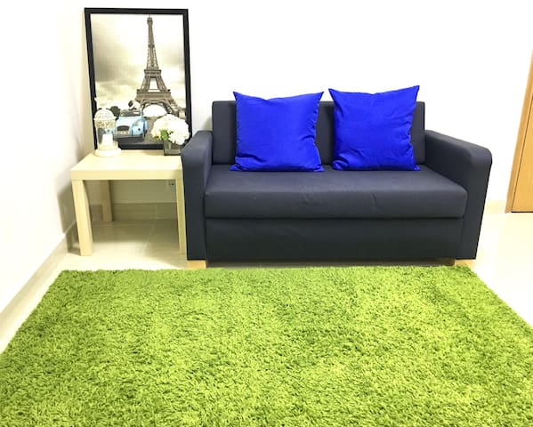 6pax Cozy & New Deco apt in TST, 1min to metro - Hong Kong