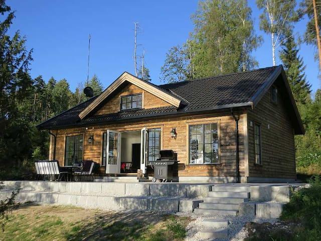 Idyllic cabin w/ lake view, Marker - Ørje - Cabin