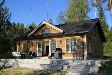 Idyllic cabin w/ lake view, Marker - Ørje