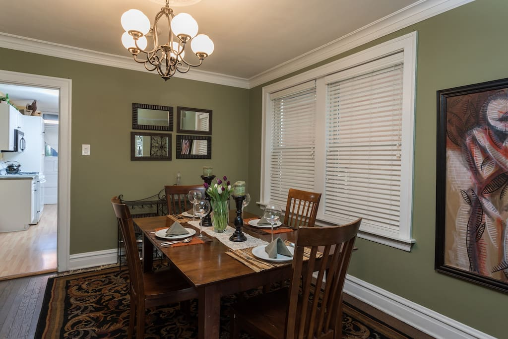 Formal Dining for Four