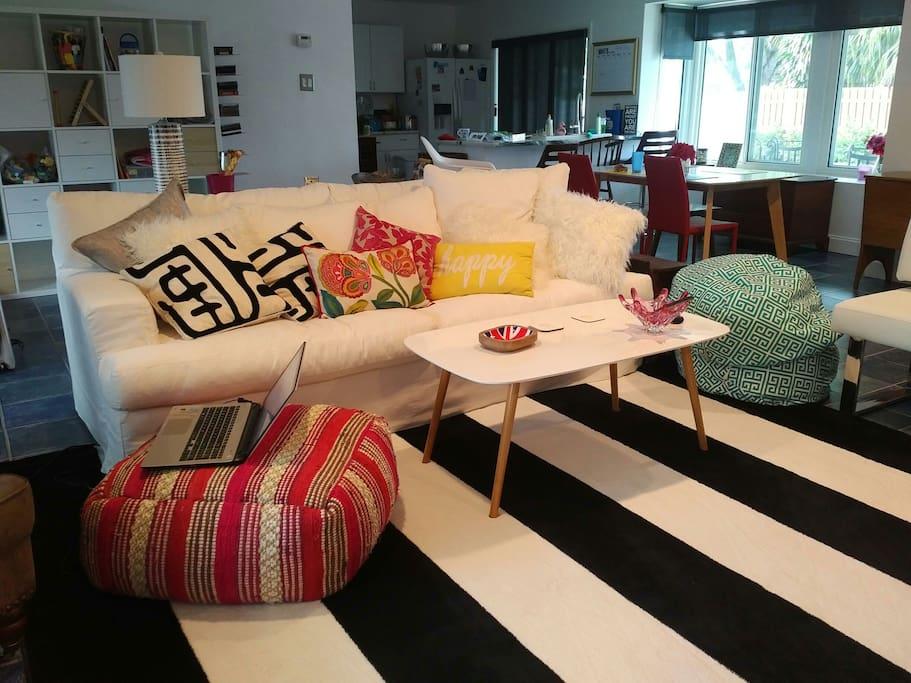 modern living space...