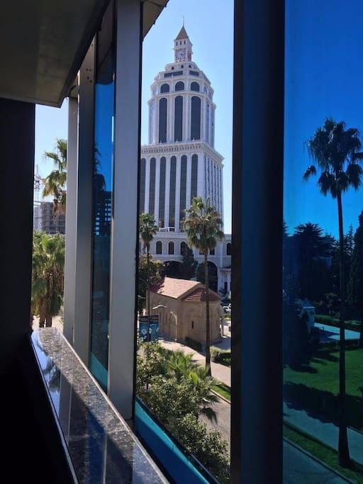 Вид из балкона гостиной