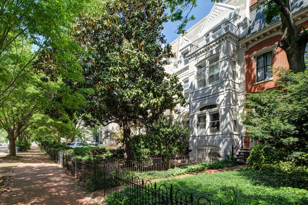 The home is located on historic New Jersey Avenue, two blocks from the U.S. Capitol Building.