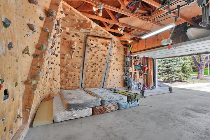 Your Peaceful Adventure Home with Climbing Wall