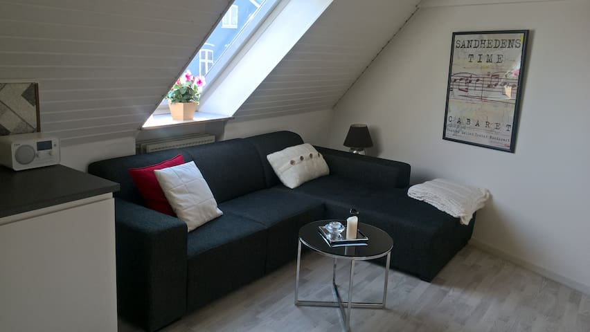 Central, cosy and light - Haderslev - Leilighet