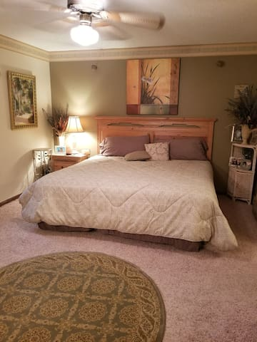 Private Master Bedroom Suite
