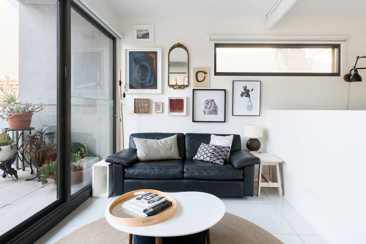 Get Creative in the Chic, All-White Kitchen at a Prahran Pad