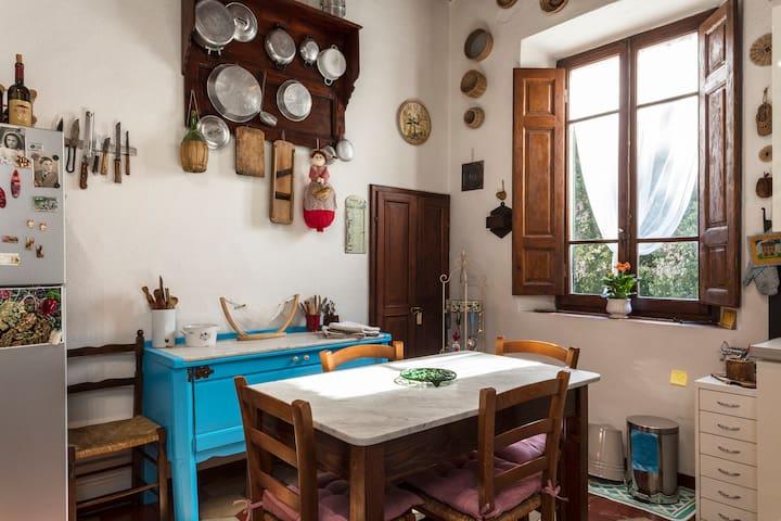 Apartment in a Tuscan farmhouse