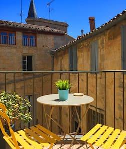 Atelier centre historique terrasse - Montpellier - Apartment