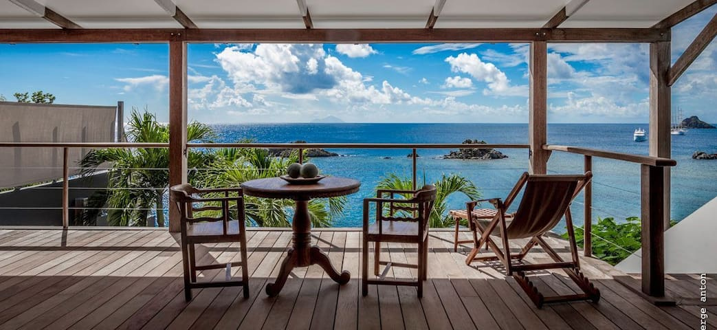 Gustavia Hill - Ideal for Couples and Families, Beautiful Pool and Beach - Gustavia - Villa