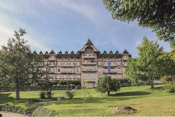 Hostel mit einzigartiger Aussicht auf die Alpen