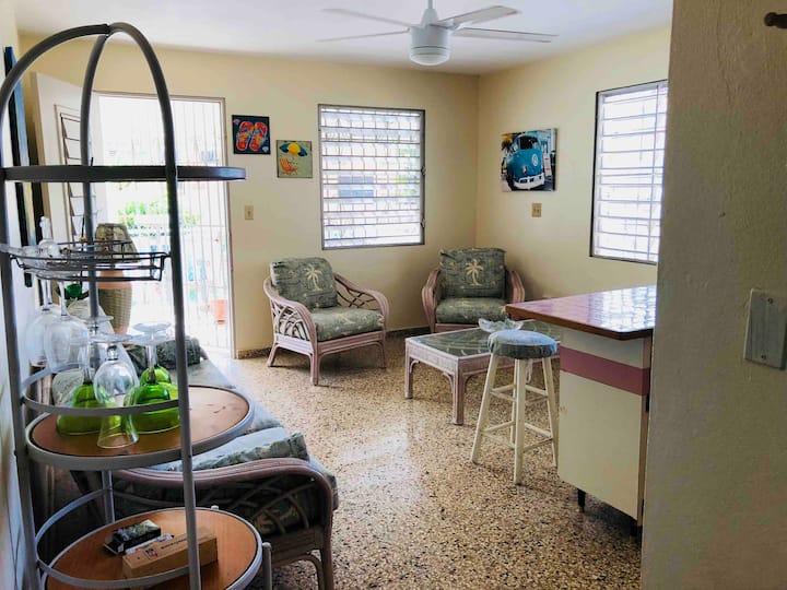 Villa II- Cozy Apartment at Vega Baja Beach