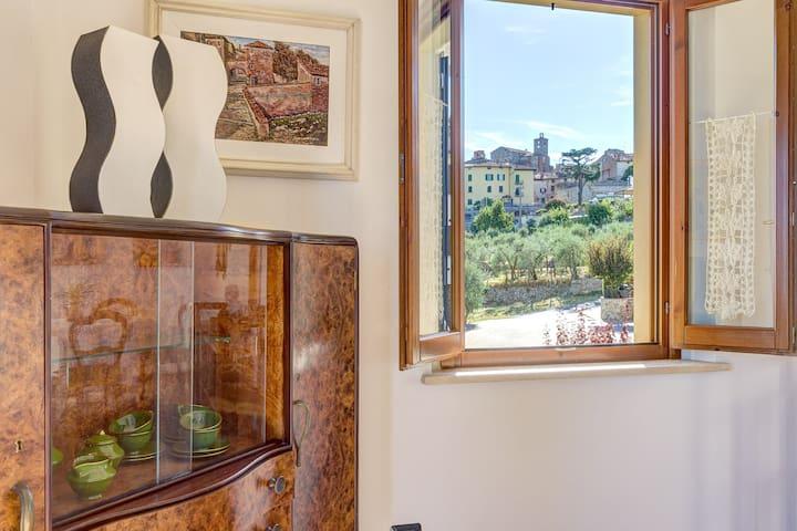 Appartement Fenêtre sur Lucignano
